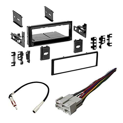 CHEVROLET 1995 - 2002 FULL SIZE TRUCK 1500/2500/3500 CAR STEREO RADIO CD PLAYER RECEIVER INSTALL MOUNTING KIT RADIO ANTENNA (Stereo For Chevy Truck compare prices)