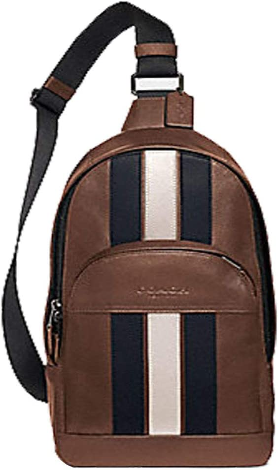 COACH CHARLES PACK IN SIGNATURE CANVAS F39942,CHARCOAL
