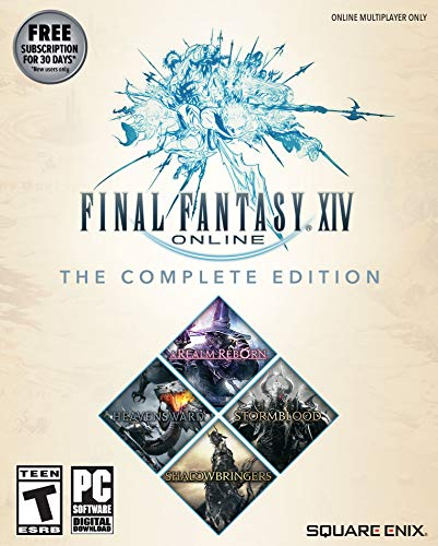 Final Fantasy XIV Online - Complete Edition  [Online Game Code] (Fantasy Games For Pc)