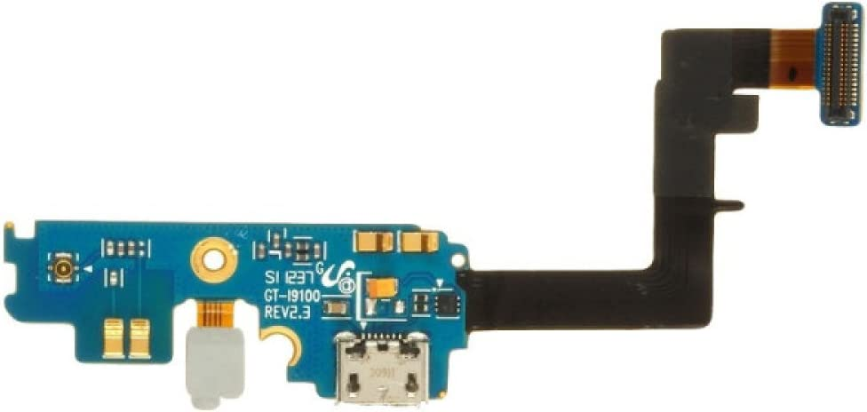 with Flex Cable Charge Port with Glue Card Rev. 2.3 for i9100 Galaxy S II