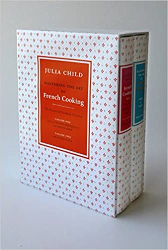 Mastering The Art Of French Cooking 2 Volume Box Set A