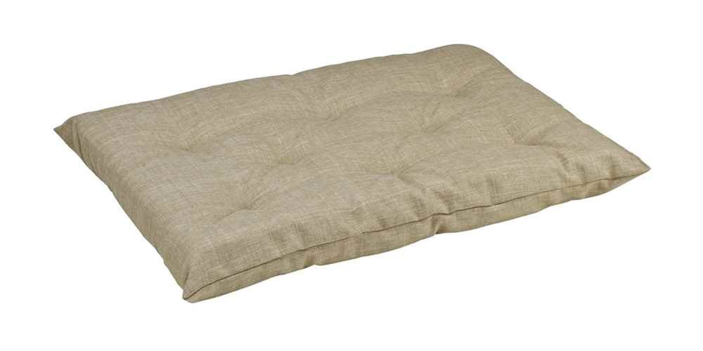 Bowsers Tufted Cushion, Large, Flax