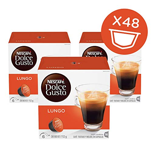 - Nescafe Dolce Gusto, Caffe Lungo, 16 Count (Pack of 3)
