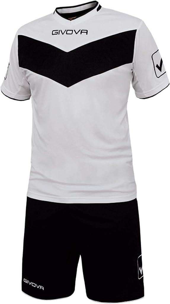 TALLA 3XL. givova kitt04, Camiseta y Pantalón Corto De Fútbol Unisex Adulto
