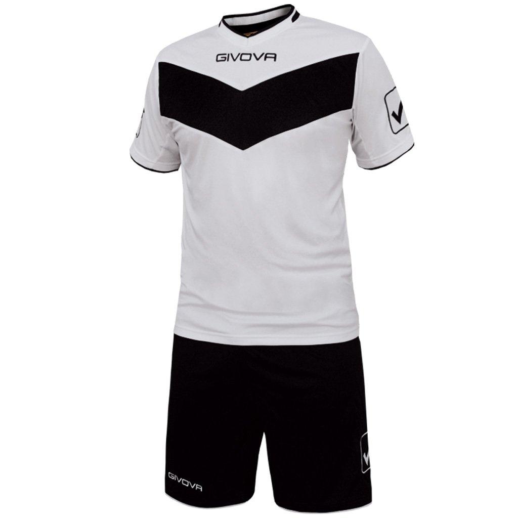 TALLA L. givova kitt04, Camiseta y Pantalón Corto De Fútbol Unisex Adulto