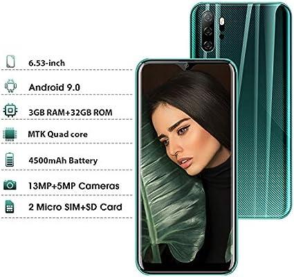 Moviles Libres 4G, Smartphone Libre Dual SIM 6,53 Pulgadas Android ...