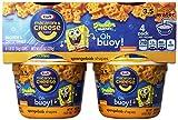 spongebob mac and cheese - Kraft Sponge Bob Easy Mac Cup 4 Pack, 7.6-Ounce Packages (Pack of 6) by Kraft