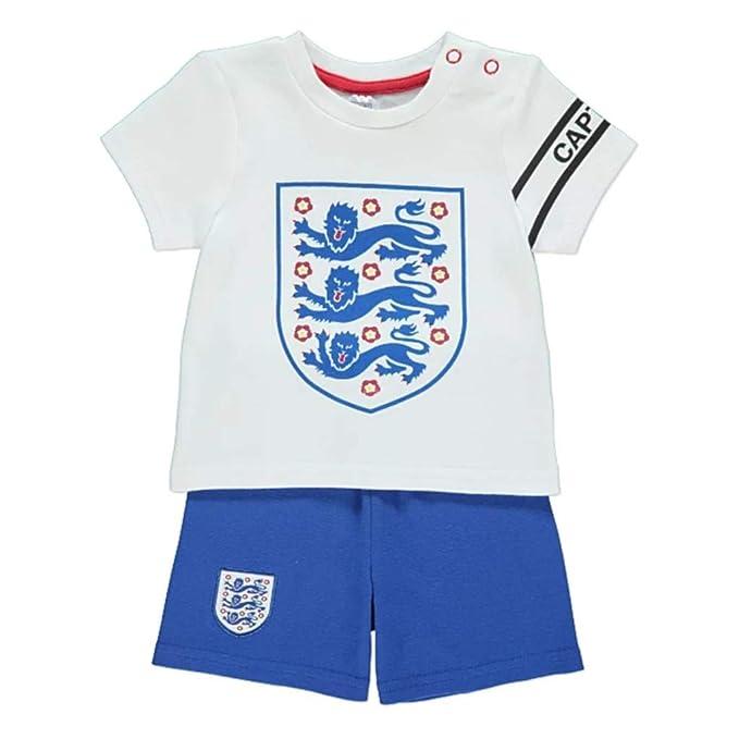 fac239e0 England Football Baby/Toddler Kit T-shirt & Shorts Set | 2019/20 ...