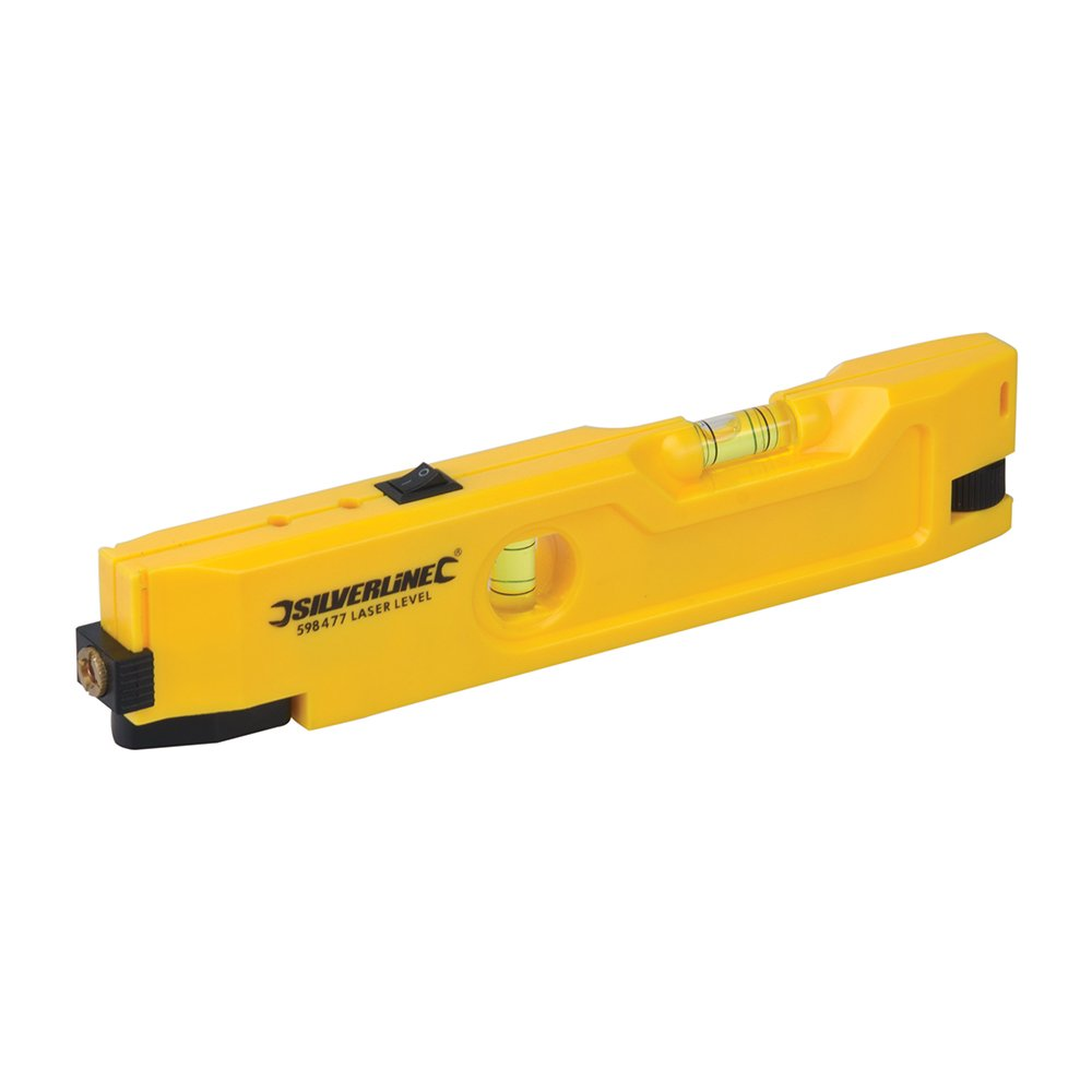 Silverline 598477 Mini-niveau laser 21 cm TS598477