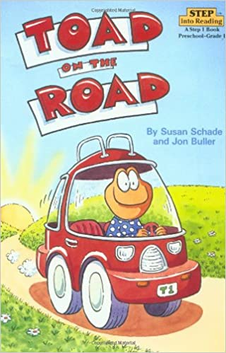 amazon com toad on the road step into reading step 2