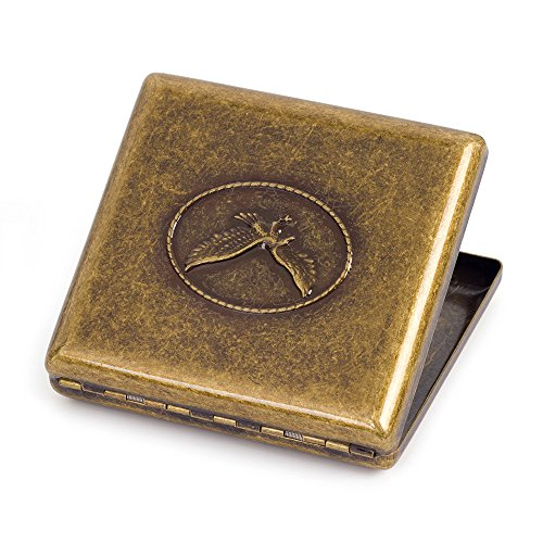 etal Cigarette Case Holder Holds 20 Cigarettes (Eagle) ()