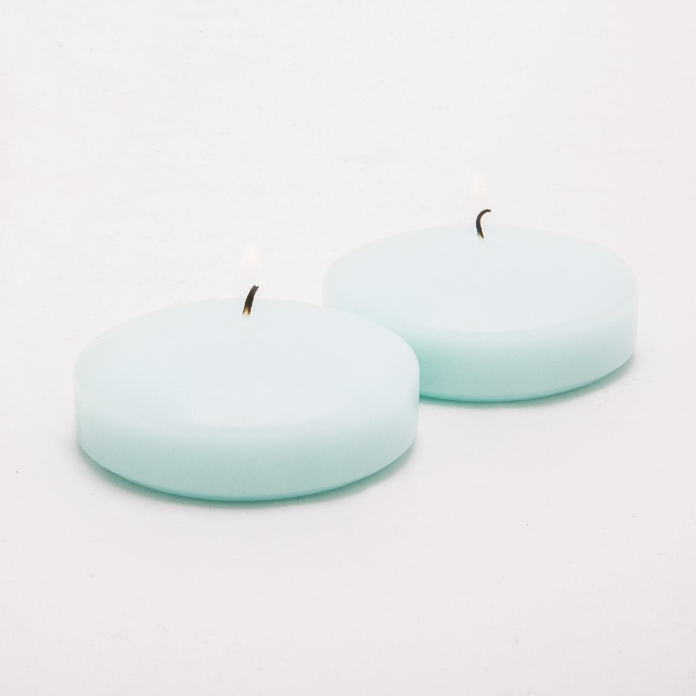 Richland Floating Candles 3'' Aqua Green Set of 12 by Richland