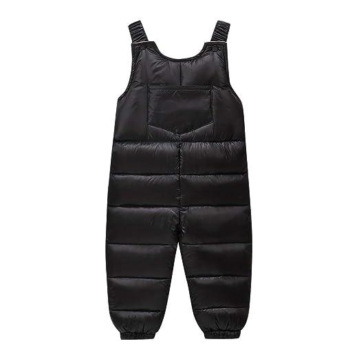 483acec79 Amazon.com  Tronet Baby Boys Girls Winter Suspenders Strap Pants ...