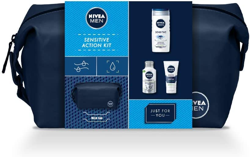 NIVEA MEN Sensitive Set para la piel sensible incluyendo los ...