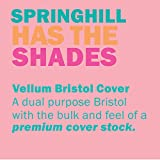 Springhill Pink Colored Cardstock Paper, 67lb