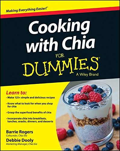 Cooking Chia Dummies Barrie Rogers product image
