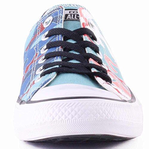 Converse Chuck Taylor Unisex Warhol Ox Ni scarpa da basket Blau Tienda De Precio Barato EmSLvEh