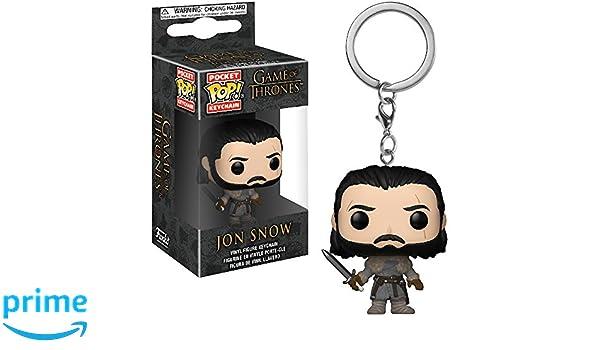 Amazon.com: Funko Jon Snow: Game of Thrones x Pocket POP ...