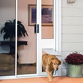 Amazon Patio Pacific Thermo Panel Large Dog Flap No Tools