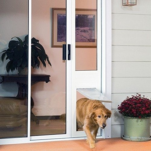 Large Bronze Pet Patio - Patio Pacific Thermo Panel IIIe Large Flap 77.25-80.25, Bronze Frame