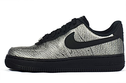 Nike Air Force 1 07 Premium Svart / Metallisk 616.725-003 (storlek: 9)