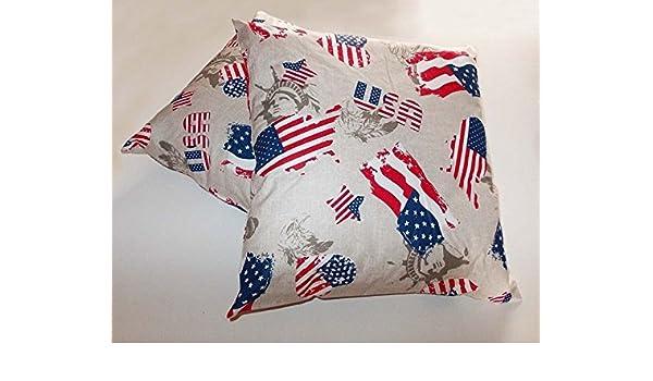 Confezioni Giuliana Par Cojines Bandera Estados Unidos ...