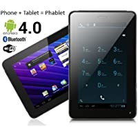 NEW! 7 Android 4.0 ICS Tablet PC + Smart Phone - Call as Cell Phone - Full Access to Google Play Store