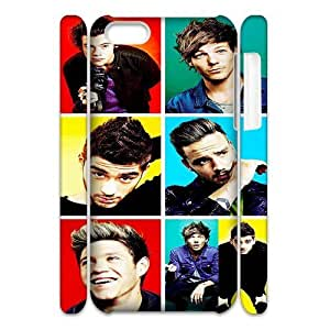 One Direction DIY 3D Case for Iphone 5C, 3D Custom One Direction Case
