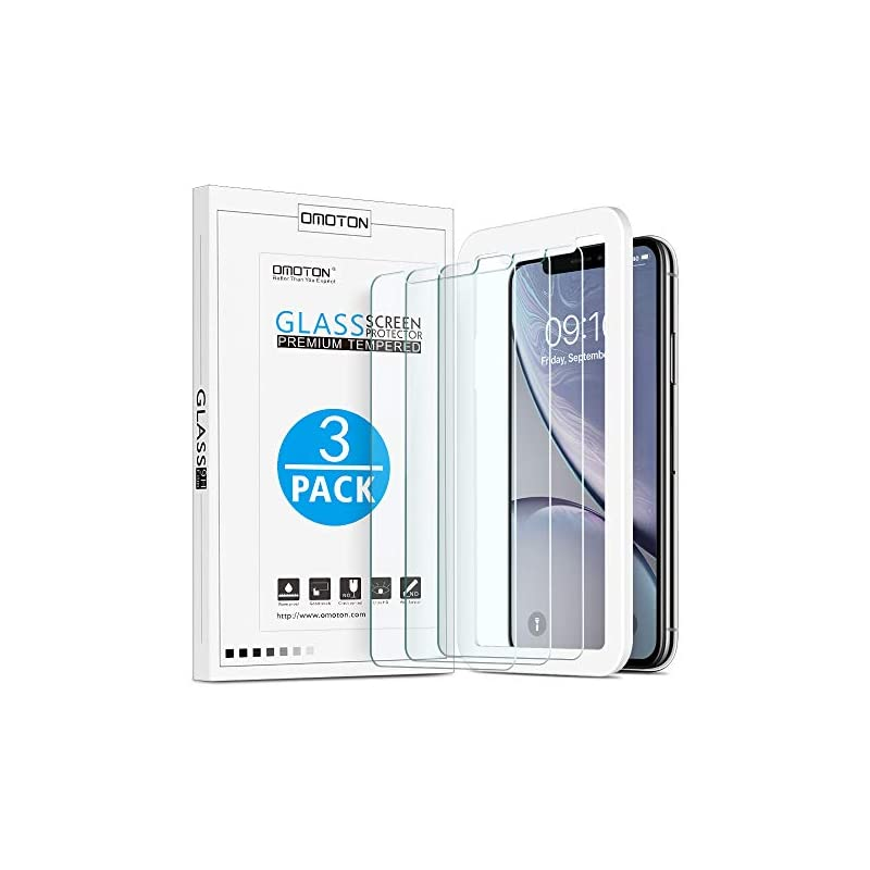 OMOTON Tempered Glass Screen Protector C