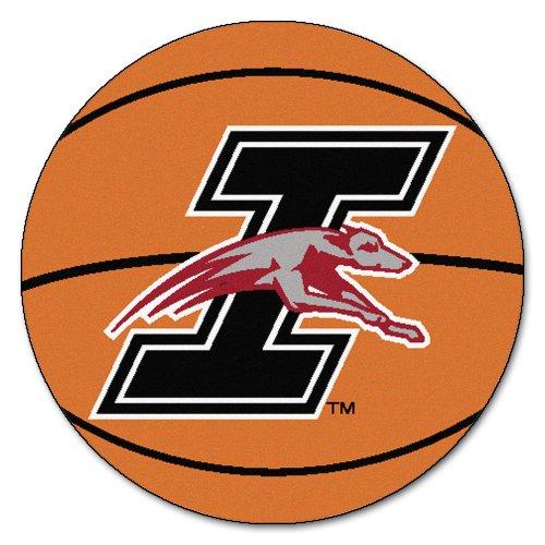 (NCAA University of Indianapolis Greyhounds Basketball Shaped Mat Area Rug )