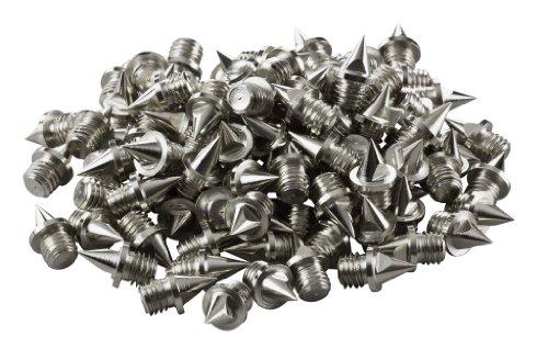 Laufstoff - Clavos de 6 mm para atletismo, 100 unidades