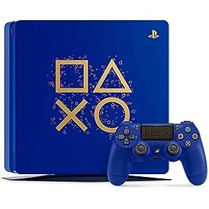 51yWYtlMw7L. SS300  - PlayStation-4-Slim-1TB-Limited-Edition-Console-Days-of-Play-Bundle-Discontinued