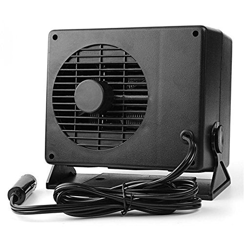 (12V Car Heater Cooler Fan Window Defroster Demister Portable Fast Heating Ceramic Heater Defogger that Plugs into Cigarette)