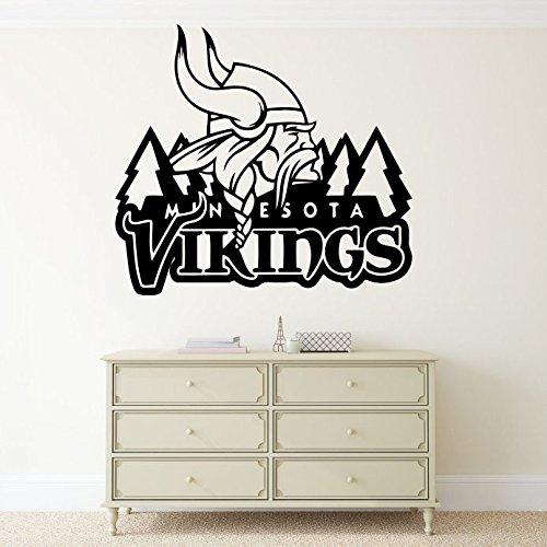 Minnesota Vikings NFL Wall Vinyl Decal Sticker Emblem Football Team Logo Sport Home Interior Removable Decor
