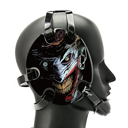 Geyi Wrestling Headgear with The Joker Decals by Geyi