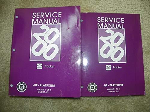 2000 Chevrolet Tracker (J/E-Platform) Service Manual