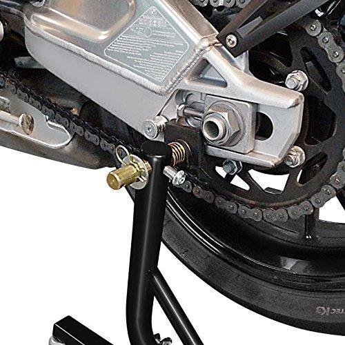 Cavalletto Sposta Moto Posteriore per BMW F 800 R ConStands Mover II Universale nero