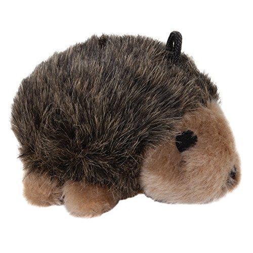 Booda Corporation (Aspen) DAP07516 Soft Bite Toy, Hedgehog, Medium Aspen Pet Hedgehog Toy
