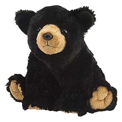 Wild Republic Black Bear Plush, Stuffed Animal, Plush Toy, Gifts for Kids, Cuddlekins 12 Inches: Toys & Games