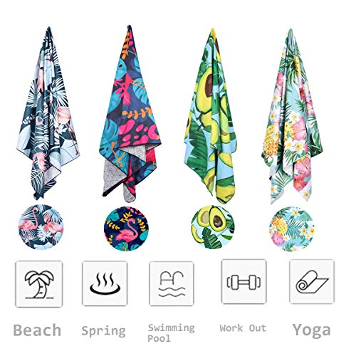 Microfiber Beach Towel Absorbent Swimming product image