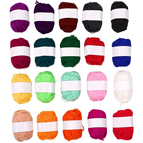 soledi-pack-of-20-skeins-acrylic-yarn-perfect-for-crochet-and-knitting-project-bonbons-yarn-rainbow-