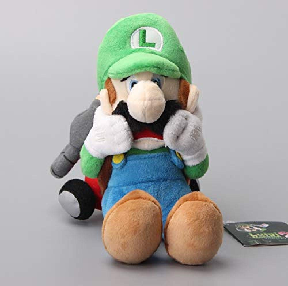 QIXIDAN Super Mario Soft Plush Toys Luigi Mansion Mu/ñecas De Peluche 25Cm Regalo para Ni/ños