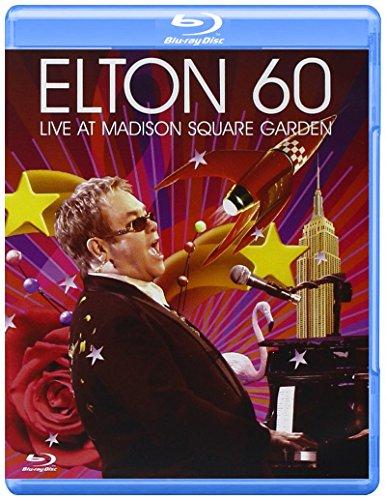 Rare 2007 Poster - Elton 60-Live at Madison Square Garden [Blu-ray]