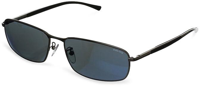 Amazon.com: Police S8650 – 568B Wrap anteojos de sol ...