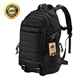 Tactical Backpack - LuKaiSen Military Tactical Backpack Rucksacks Survival Gear Bag Men Women Kids Large Molle Waterproof Daypack for Army Camping Gym Hiking Trekking 40L 1050D Nylon