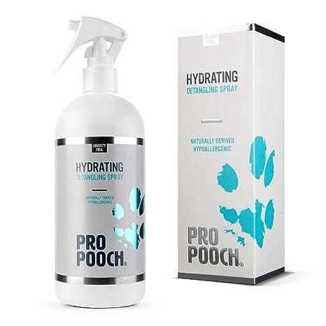 Pro Pooch Spray desenredante para Perros (500 ML) | Spray acondicionador hipoalergénico para desanudar