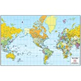 Map Of The United States Gloss Laminated Small Phoenix Mapping - Small us map