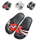 JACKSHIBO Boys Girls Slide Sandals, Outdoor Indoor Sandals Beach Water...