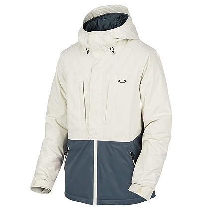 Oakley Trap Line 10K Bzi Jacket, Arctic White, Medium