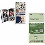 Pioneer Refill Pages for 3-Ring Photo Albums, holds 4x6- Inch Photos, Pack of 5 Pages.